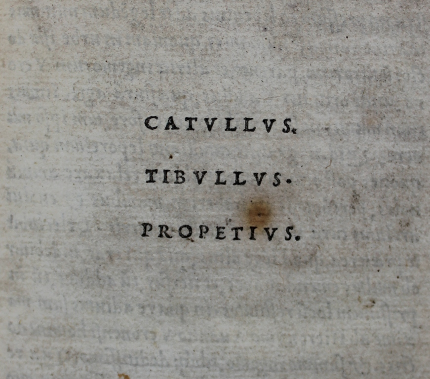 Catullus title-page.