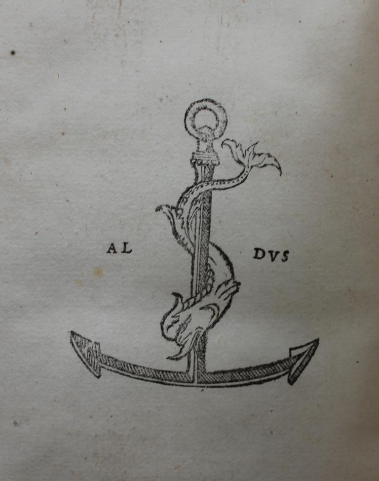Euripides 1503 Aldine device.