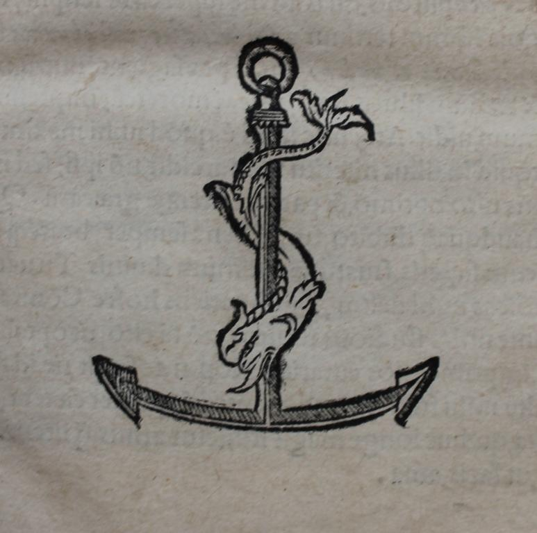 Lascaris 1512 Aldine device.
