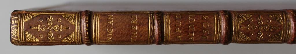 Nicander 1523 spine