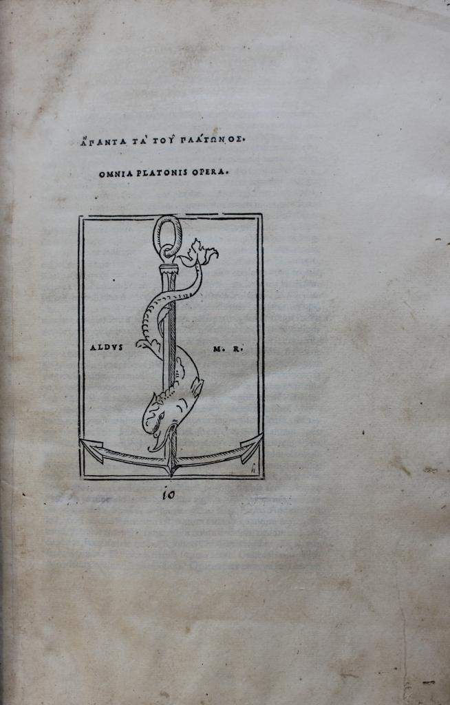 Plato 1513 title-page.