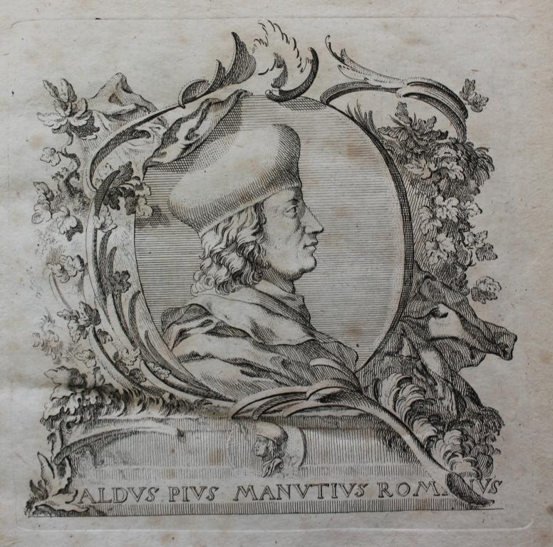 Portrait of Aldus Manutius
