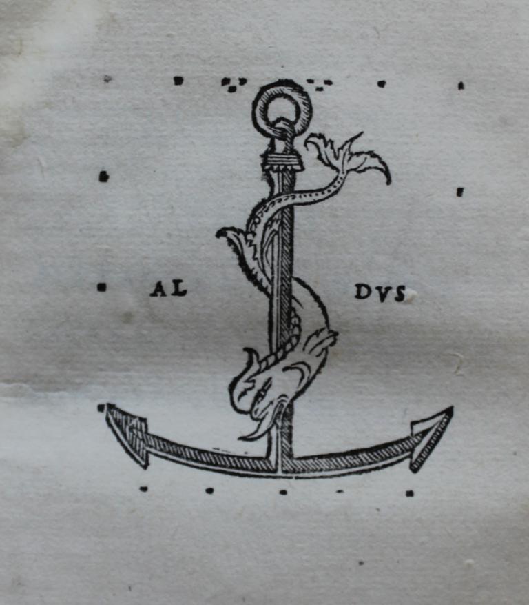 Statius 1502 Aldine device.