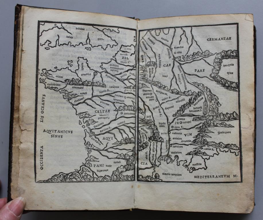 Farnese map of Gaul