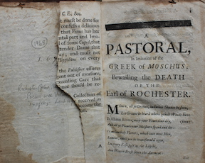 Fig. 8 - Rochester torn page