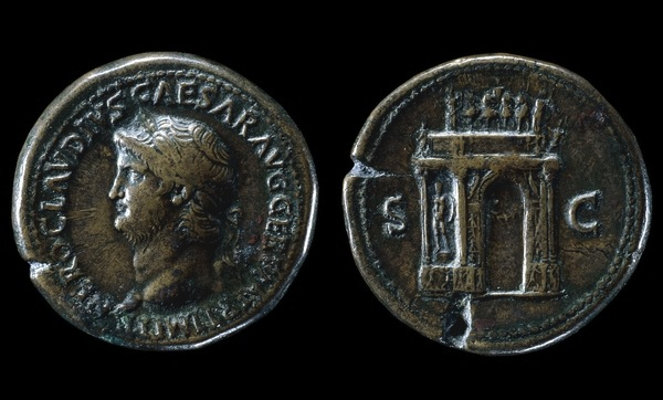 Fig.3 Roman Coin