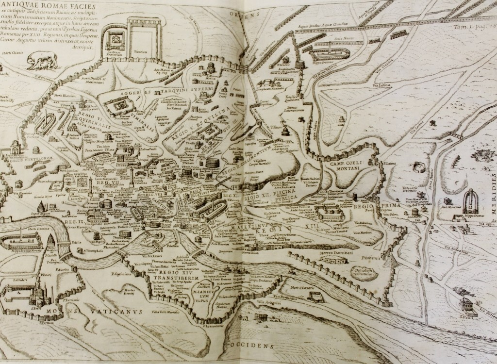 Fig. 2 Map of Rome