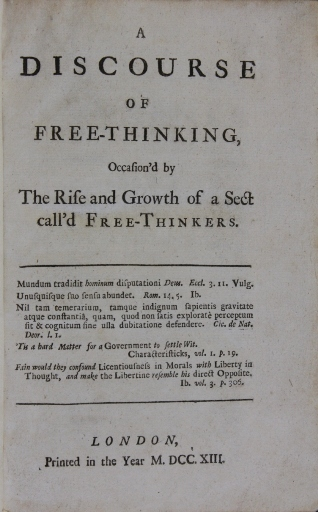Deism and the Early Enlightenment at the Worth Library   Edward ...