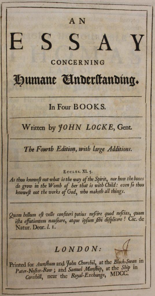 John Locke essay Essay — Free college essays